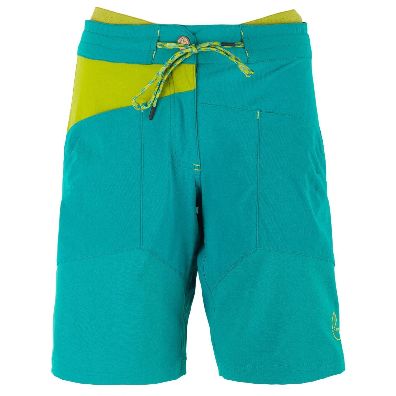 La Sportiva Women TX Short (S) Emerald   Citronelle