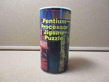 Vintage Intel Pentium Processor Puzzle Pentium Processor Rare Promo 1980 (PG1396