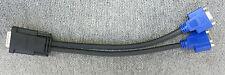 Matrox f15941-00 lfh-60 A Doble Vga 15 Pin Mujer Splitter Cable De Video