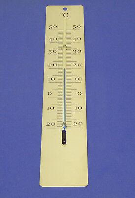- Interno-esterno Termometro Acciaio Inox Lucido-ermometer Edelstahl Glänzend It-it