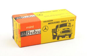 Buby-Mini-Argentina-No-10-Mercedes-Benz-L-1114-Empty-Box-Only