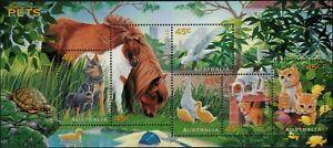 1996-AUSTRALIA-Pets-M-S-MNH
