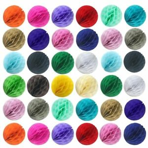 5-25x-20-Color-4-8-12-HoneyComb-Tissue-Paper-Ball-Lantern-Pom-Poms-Wedding-Decor