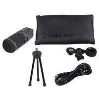Audio Technica AT2020USB+ PLUS USB Recording Mic w/Headphone Output +Mix Control