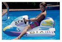 Kids Jet Ski Inflatable Childrens Ride On Toy Water Bike Swimming Pool Float