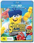 The Spongebob Movie - Sponge Out Of Water (Blu-ray, 2015, 2-Disc Set)