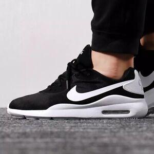 Details zu Nike Air Max Oketo Sneaker Turnschuhe Herren Schuhe Freizeit schwarz AQ2235 002