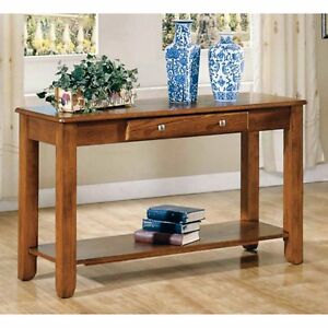 Enjoyable Details About Brown Hallway Console Table Furniture Decor Home Living Room Entryway One Drawer Unemploymentrelief Wooden Chair Designs For Living Room Unemploymentrelieforg