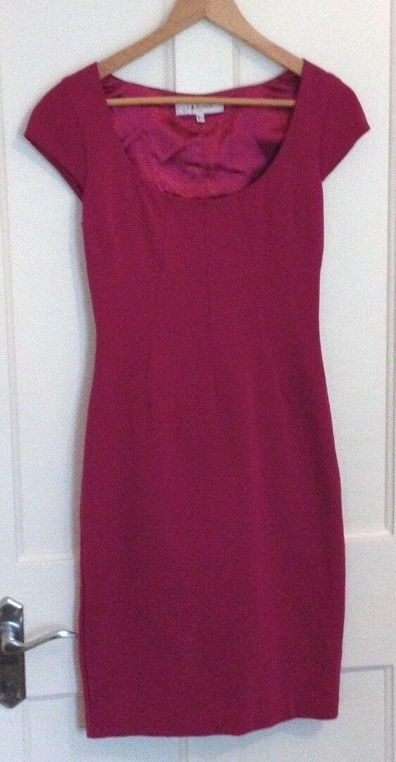 L.K. BENNETT Fitted Dress, Size 6, VGC