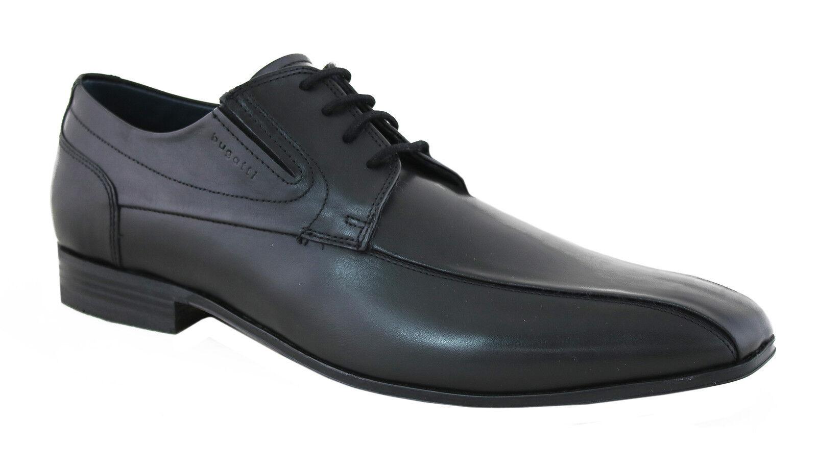 Billig gute Qualität Bugatti Herren Schnürschuhe Business-Schuhe U1802-1-100