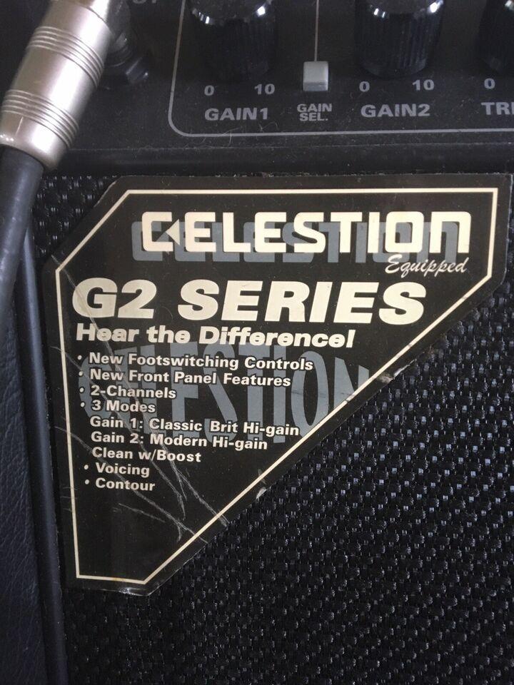 Guitarforstærker , Randall Rg100sc stereo chorus tube