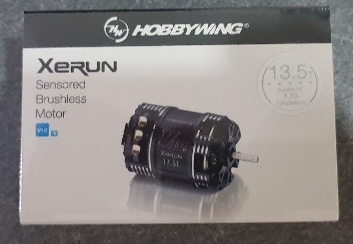 HOBBYWING XERUN SENSorojo V10 G3 sin escobillas motor de carreras de stock 13.5T