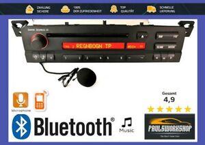 Original-BMW-Business-CD-E46-mit-Bluetooth-Freisprecheinrichtung-Mic-Radio
