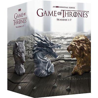 GAME OF THRONES Season 1-7 Box Set Complete Series 1 2 3 4 5 6 7 NEW DVD