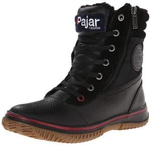 Pajar-Trooper-Mens-Waterproof-Snow-Winter-Boots-Black-Size-EUR-41-40