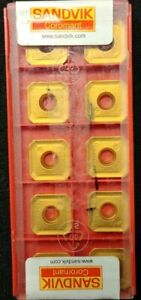 SANDVIK-R245-12-T3-M-PM-New-Carbide-Inserts-Grade-4030-10-pcs-LOC2019129
