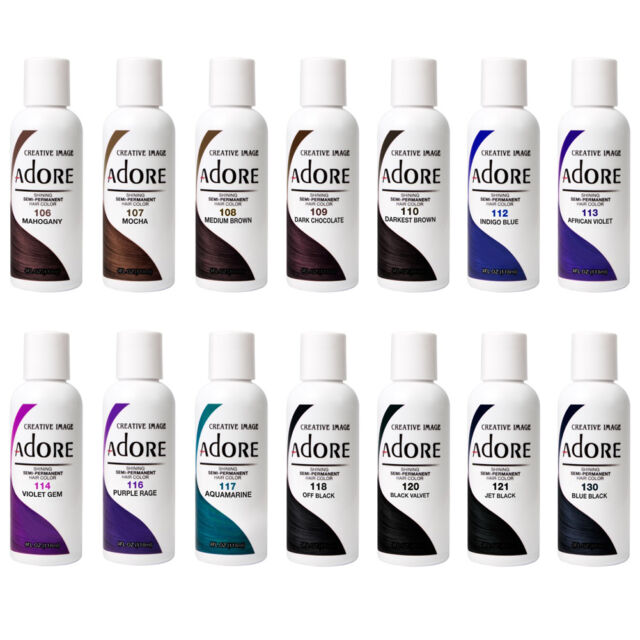 Adore Shining Semi-Permanent Hair Color Creative Image #106-#130 *Pick One Color