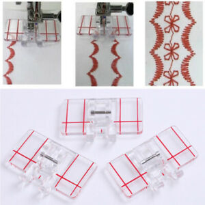 Guide-Parallel-Stitch-Measure-with-a-Ruler-Presser-Foot-Sewing-Machine-Feet