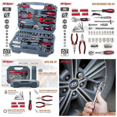 Caja De Herramienta De Alta Calidad De 67 piezas para reparar Carro Coche Truck