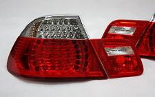 LED RÜCKLEUCHTEN RÜCKLICHTER SET BMW E46 3er M3 COUPE 99-03 ROT KLAR TÜV-FREI