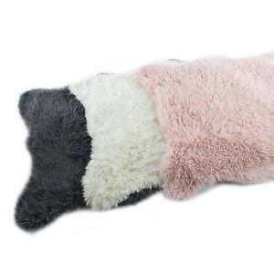 Fell Teppich Grau : fell teppich vorleger kunstfell rosa wei grau ca 60 x 90 ~ Watch28wear.com Haus und Dekorationen