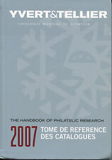 Yvert & Tellier 2007 Stamp Catalogue Handbook Philatelic Research