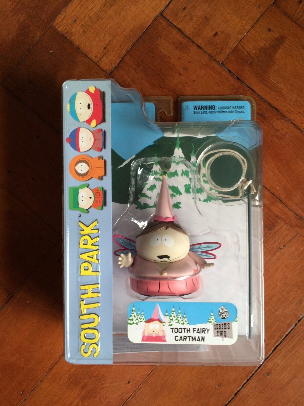 South Park Series 2, Tooth Fairy Cartman,  Mezco 2006 New Sealed