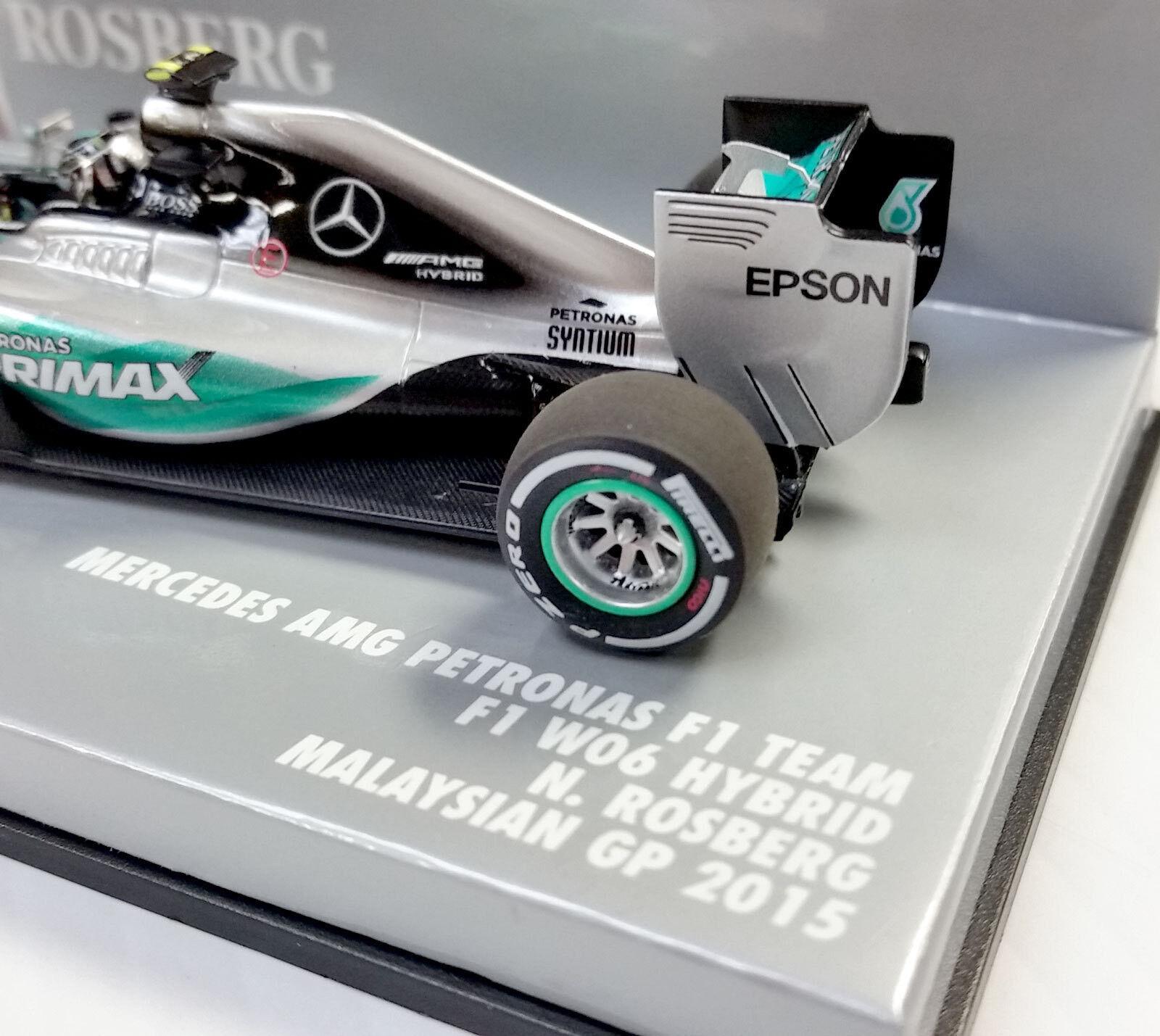 mejor calidad mejor precio Minichamps 1 43 2015 De De De Mercedes Amg Petronas F1 Team w06 Nico Rosberg 417150006  buena reputación