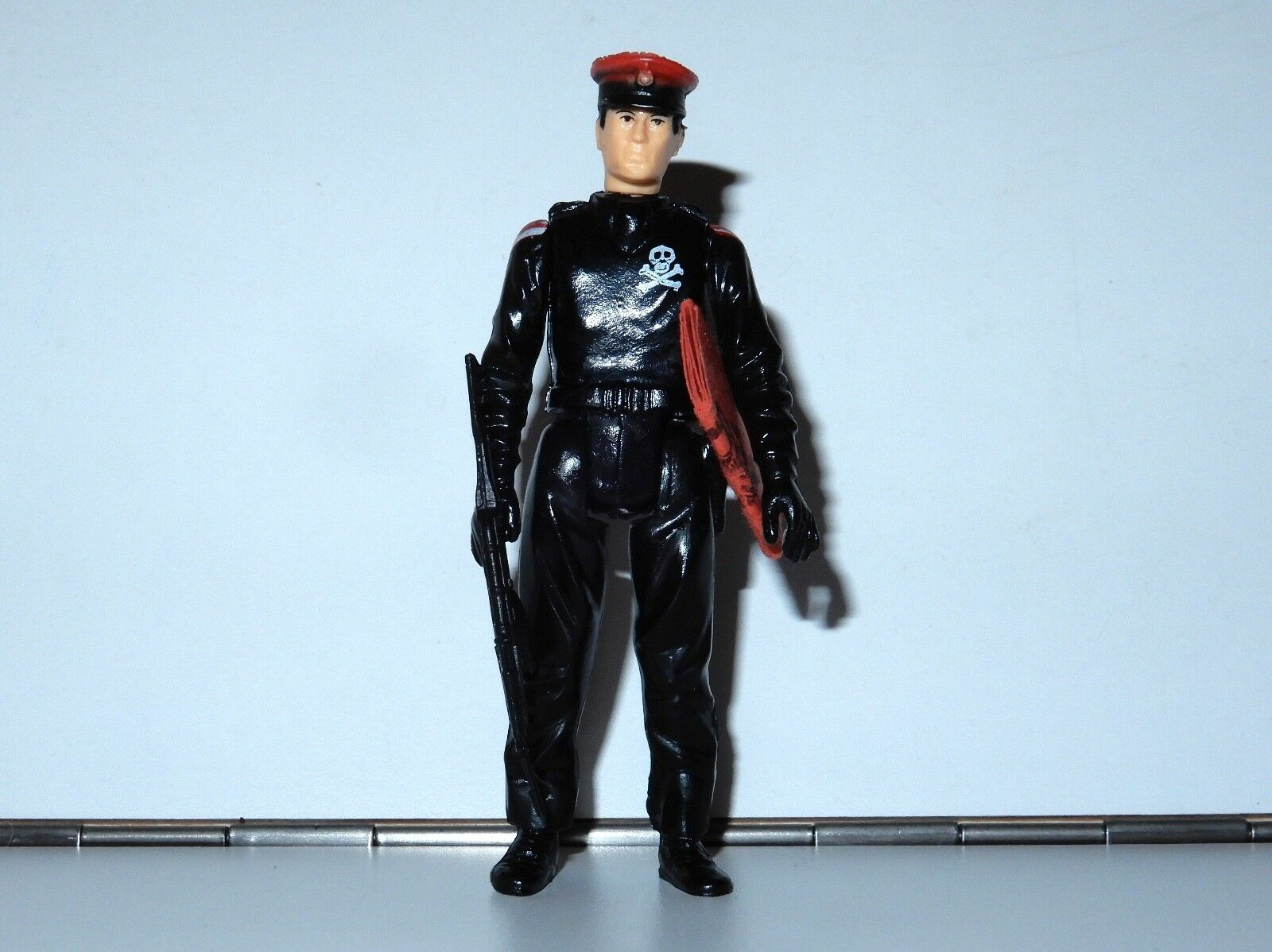 1983 GI JOE   ACTION FORCE rot SHADOWS schwarz MAJOR 100% COMPLETE C9+ PALITOY