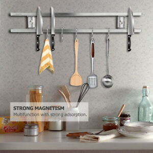 Image Is Loading Magnetic Knife Holder Kitchen Utensils Rack Storage Strip