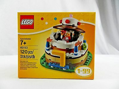 Stupendous New Lego Birthday Party Cake 40153 Ages 1 99 40153 Collector Set Funny Birthday Cards Online Barepcheapnameinfo