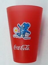 COCA COLA COKE PLASTIC BEAKER FIFA WORLD CUP KOREA JAPAN CUP UK NEW