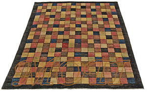moderner ziegler 200 x 150 orient perser teppich bauhaus rug tapis tappeto ebay. Black Bedroom Furniture Sets. Home Design Ideas