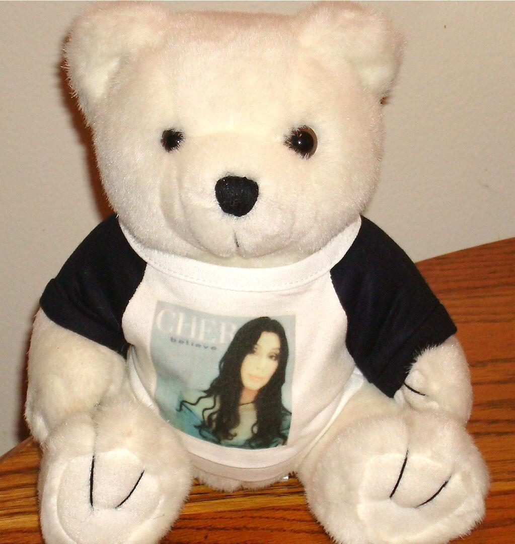 Cher Believe Tour Oso de Peluche de edición limitada con Cher T-Shirt