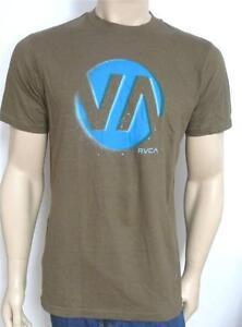 b543375f0bbff Details about RVCA Lunar Eclipse T-Shirt Tee Khaki Green Mens New T-Shirt  New NWT