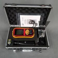 Portable Digital Vibration Analyzer Vibrometer Temperature Tester New Gm63b