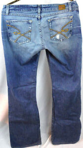 30 taille bottes haute Womens Buckle Taille moyen 18 Star X Pantalon Jeans Bke The 7wTfq7Ex