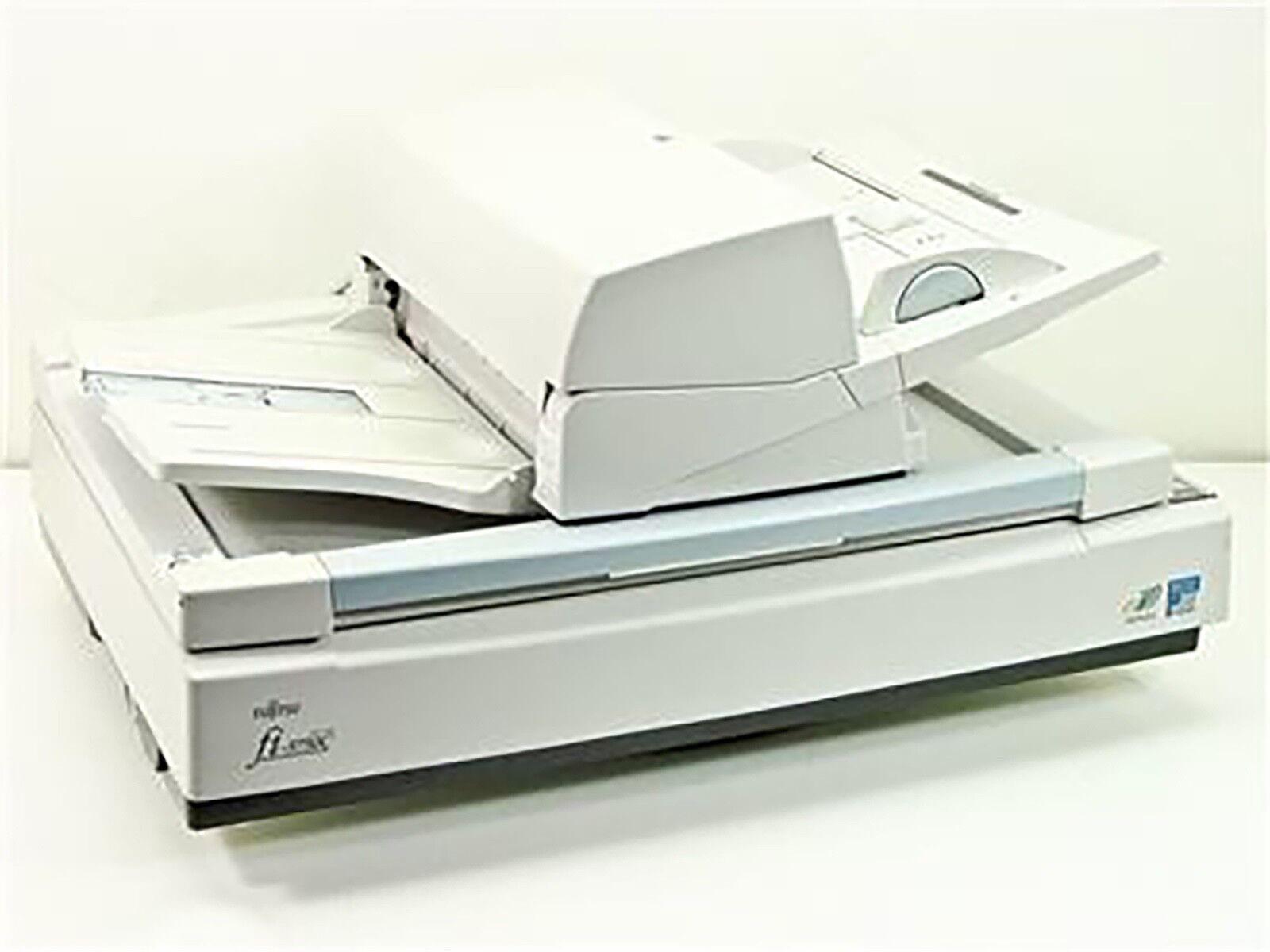 Fujitsu fi-5750C High-Speed Color Duplex Flatbed Swivel Image Scanner