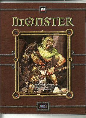 Audace Aeg, Dungeon & Dragons D&d D20 Rpg-mostri Supplemento-mostra Il Titolo Originale Lasciamo Che Le Nostre Merci Vadano Al Mondo