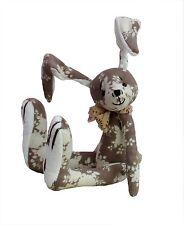 "Hurdy Gurdy 7"" soft toy rabbit sewing pattern by pcbangles."