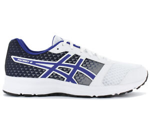 Asics-Patriot-8-Hombre-Zapatillas-de-Correr-Blanco-Running-Jogging-Sport-Zapatos