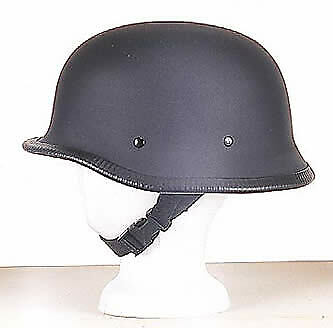 Free Shipping Y-Strap German Flat Black  Novelty  Helmet Q-Release