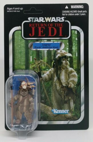 Star Wars The Vintage Collection-vc55 Logray ewok-Return of the Jedi-mosc