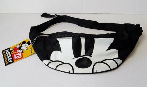 Fanny Pack Black /& White Peeking Mickey Face Belly Bag Disney Mickey Mouse