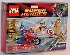Instruction BA LEGO® 6865 Avenging Cycle Super Heroes Captain America Box