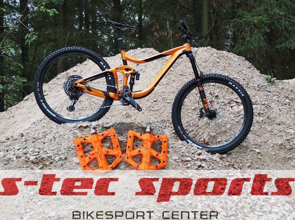 Azonic kamikaze RL Flat pedal tuning Giant Reign 2019, Giant bikes 2019