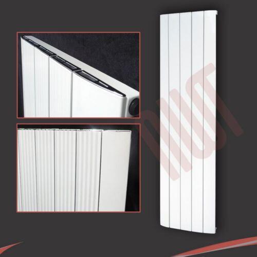 """Vertical /& Horizontal Radiators Aluminium Designer /""""Cariad/"""" White /& Anthracite"""