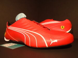 5474e68115f8 PUMA SF FUTURE KART CAT FERRARI CASUAL SHOES ROSSO CORSA RED WHITE ...