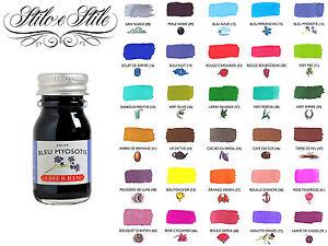 Inchiostro-J-Herbin-10-ml-per-Penne-Stilografiche-Vari-colori-Ink-Bottle