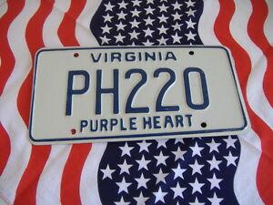 USA Nummernschild VIRGINIA ~ US Kennzeichen LICENSE PLATE ~ Metallschild